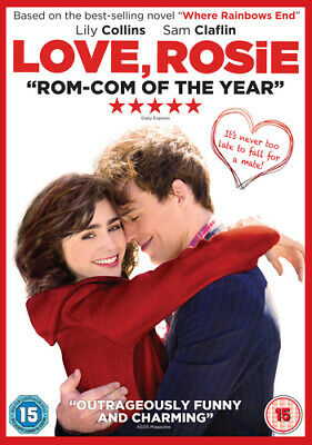 Love, Rosie DVD (2015) Lily Collins, Ditter (DIR) cert 15 FREE Shipping, Save £s