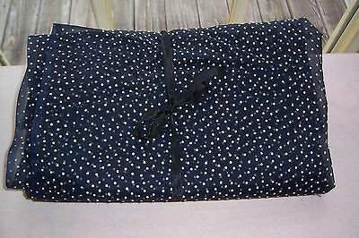 Vtg  50's Nylon Dotted Swiss Fabric for ANTIQUE DOLL DRESSES