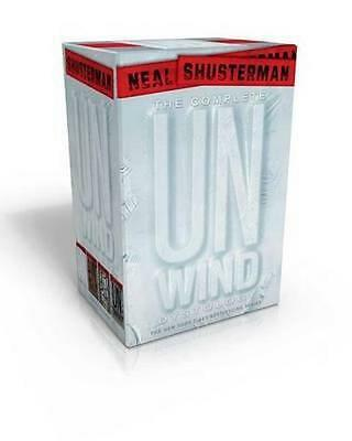 NEW The Complete Unwind Dystology Set By Neal Shusterman Paperback Free Shipping