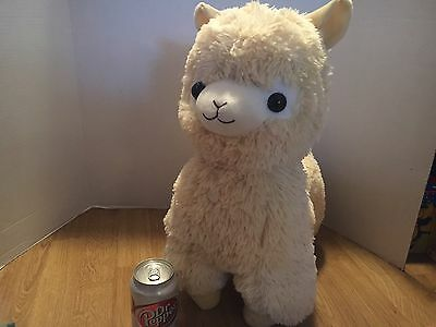 "Amuse Alpacasso Alpaca Stuffed Plush 20"" USA Seller"