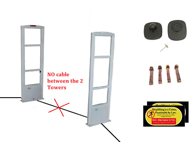500 Tag  Package - EAS RF Anti Shoplifting Checkpoint Compatible Security system