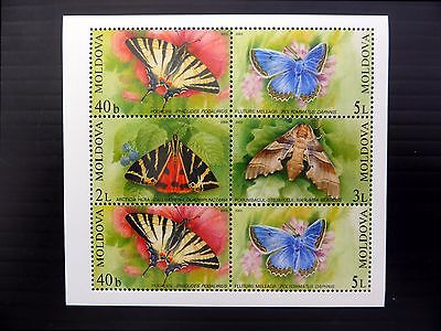 MOLDOVA 2003 Butterflies M/Sheet MS459 U/M FP9625