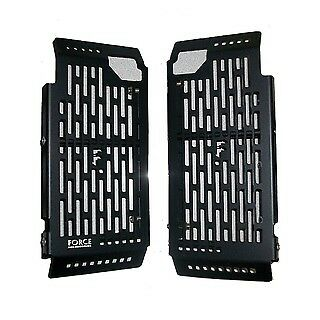 Force Accessories radiator guards black KTM all 2008-2015