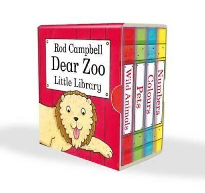 Dear Zoo Little Library by Rod Campbell 9780230750289 (Multiple copy pack, 2010)