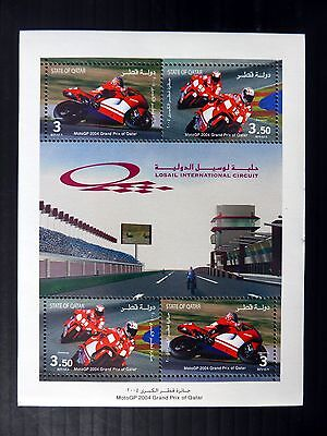 QATAR 2004 Grand Prix Racing M/Sheet MS1139 U/M FP9648
