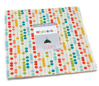 Patchwork/quilting Fabric Layer Cake Moda - Mixed Bag