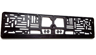European Euro License Number Plate Frame Tag Holder Mount FREE SHIPPING !