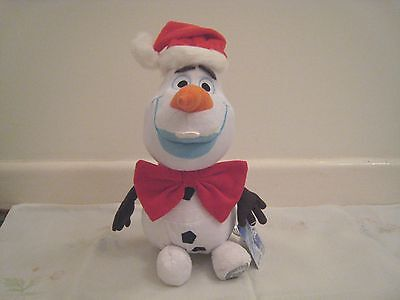 "Disney frozen Olaf from Disney Film - soft cuddly plush toy ""UK  SUPPLIER"""