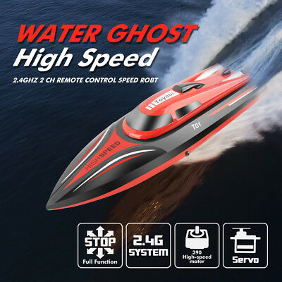 WL915 High Speed RTR RC Boat 2.4G 28MPH Brushless Water Boat Self Righting UK