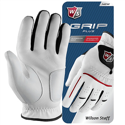NEW 2 x WILSON GRIP PLUS COMBINATION GOLF GLOVES (ALL SIZES)