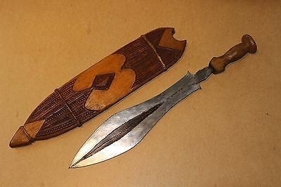CONGO old african knife ancien couteau d'afrique LUBA afrika kongo africa sword