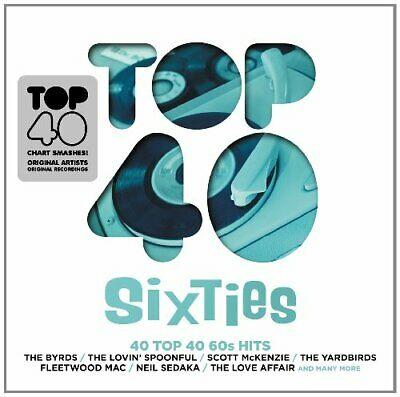 Various Artists - TOP 40 - SIXTIES - Various Artists CD MGVG The Cheap Fast Free