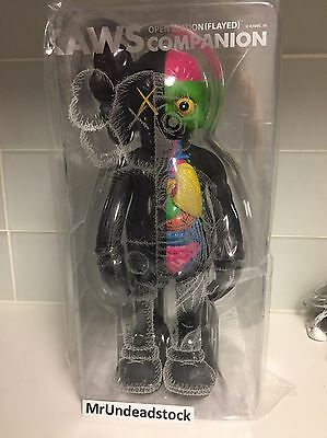 Medicom x Kaws Flayed Dissected Companion Black Original Colorway at The Modern