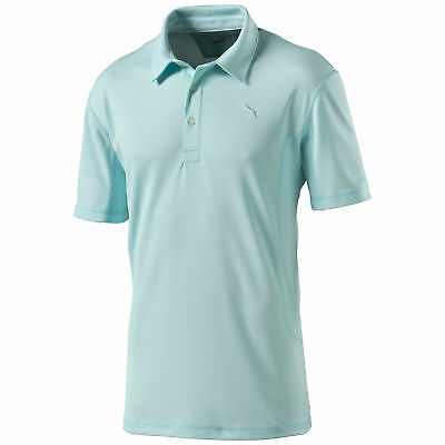 Puma Golf Tech Polo Gr L 52/54 Shirt Türkis Hemd 568224 14