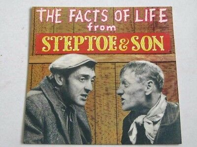 """STEPTOE & SON : THE FACTS of LIFE. 1963 PYE RECORDS. 45 RPM. VINYL 7"""". BBC TV"""