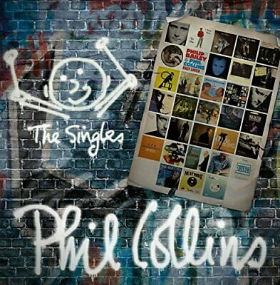 Phil Collins - The Singles - Phil Collins CD 38VG The Cheap Fast Free Post The