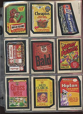 1974 Topps Wacky Packages Series 4 Set (-2) EX/NRMT