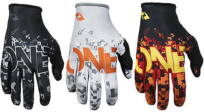 MENS ONE INDUSTRIES ZERO CAMO MOTOCROSS MX GLOVES new gants quad bike bmx mtb