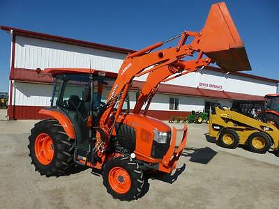 2013 Kubota L4060 Mfwd Compact Cab Tractor With Loader For Sale 382 Hours