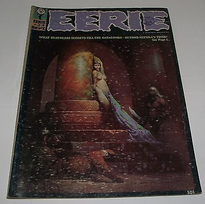 Rare Eerie #23 Horror Magazine Comic Issue Number 23