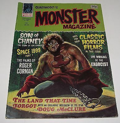 Quasimodo's MONSTERS HORROR MAGAZINE COMIC VOLUME 1 NUMBER 4