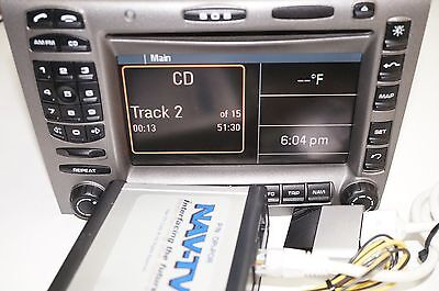 Porsche 911 05-08 Boxster Cayman Oem Pcm Navigation Monitor With Music Streaming