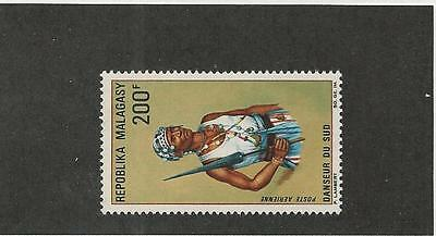 Malagasy Republic, Postage Stamp, #C87 Mint NH, 1968