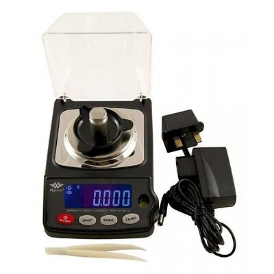 My Weigh Gempro 300 Precision Compact Milligram Scale 60g x 0.001g AC Adapter