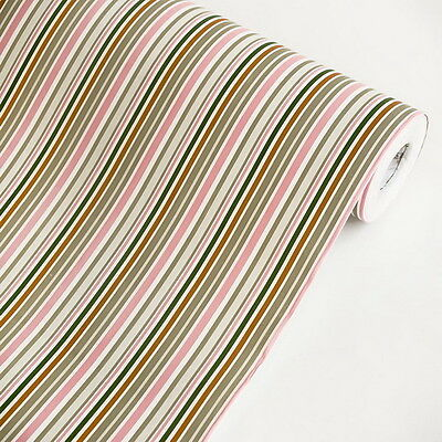 Colorful Stripes - Vinyl Self-Adhesive Wallpaper Prepasted Wall stickers Wall De