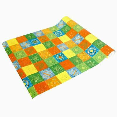 Colorful squares - Self-Adhesive Wallpaper Home Decor(Roll)