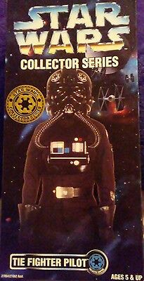 """1996 Star Wars Collector Series THE FIGHTER PILOT 12"""" Figure New in Box Kenner"""