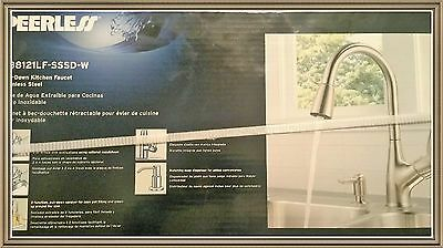 Peerless P88121Lf-Sssd-W Pull Down- Kitchen Faucet With Soap Dispenser