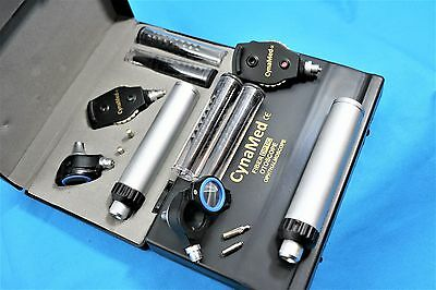 NEW! Incredible Fiber Optic ProPhysician Ophthalmoscope Otoscope Diagnostic Set