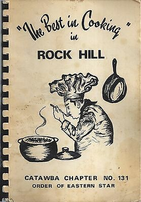The Best In Cooking In Rock Hill Sc Antique Eastern Star Oes Cook Book Local Ads