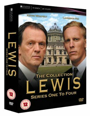 Lewis Series 1-4 - The Collection [DVD] - DVD  8SVG The Cheap Fast Free Post
