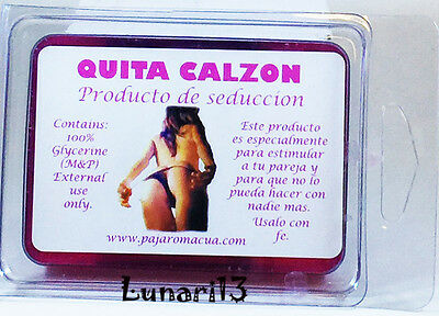 Seduction, Quita Calzon, Glycerin, Soap, Indio Products, 2 Bars, Lunari13, Wicca