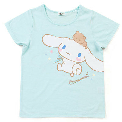 Sanrio Cinnamoroll adult T-shirt (HANG) US6-10/UK8-12/Eur36-40 kawaii F/S NEW