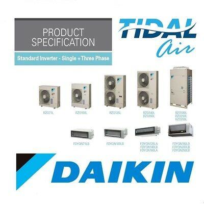 Daikin 16kw Ducted Inverter Air Conditioner Installed FDYQN160LAV1