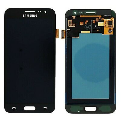 Display Lcd Touch Service Pack per Samsung Galaxy J3 2016 SM-J320FN Nero
