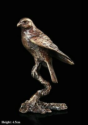 Falcon Solid Bronze Foundry Cast Detailed Sculpture Butler And Peach [2057]