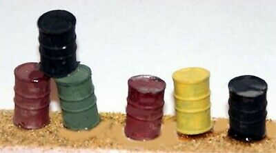 4 x Oil Drums. O Scale 1:43 UNPAINTED L43