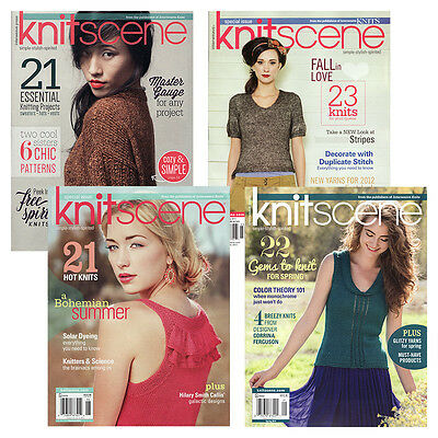 Knitscene Magazine - Complete Year Collections