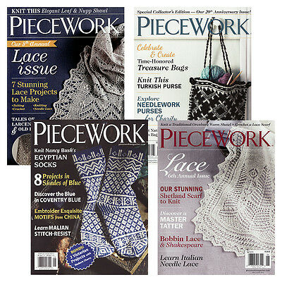 Piecework Magazine - Complete Year Collections