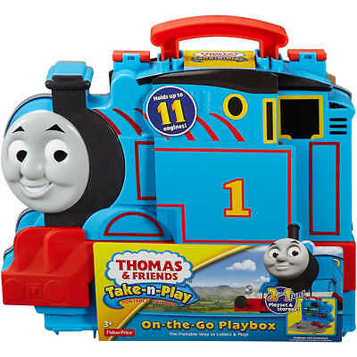 Fisher Price Thomas & Friends Take-n-Play Playbox Train Carry Case