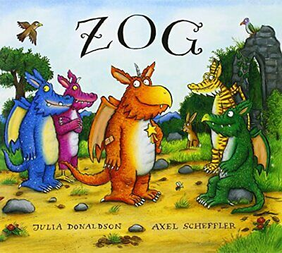 Zog by Donaldson, Julia Book The Cheap Fast Free Post
