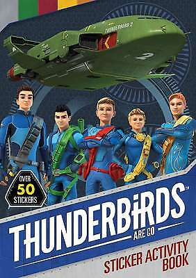 Thunderbirds Are Go Sticker Activity, Simon & Schuster UK, New condition, Book