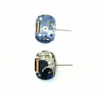 Total   2 Pcs Epson Vx01  Quartz Watch Movements With Stem * Battery Three Hands