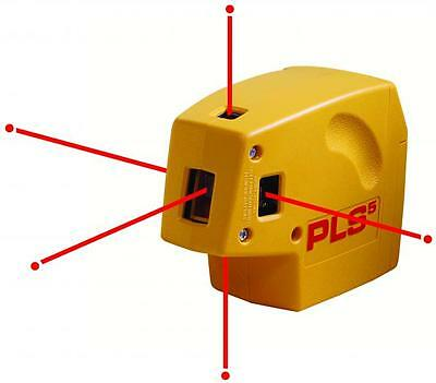 Pacific Laser Systems PLS 5 Five Point Self Leveling Laser w/ Detector 60542