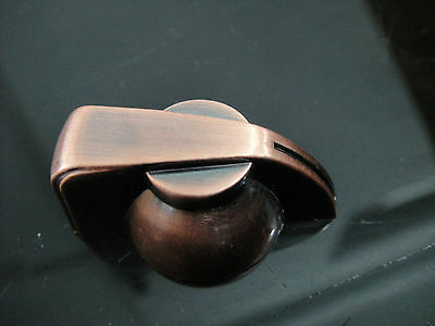 """3pcs Vintage Chickenhead Copper-Look Rotary 1/4"""" Knob for Guitar Effects Rotary"""