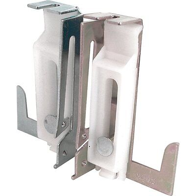 Prime-Line Products Closet Door Bottom Guide 1 Left 1 Right